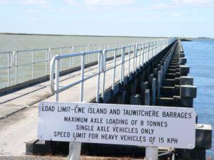 Ewe Island Barrage
